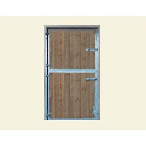 Boxes en pino le galop - Puerta acero galvanizado ...