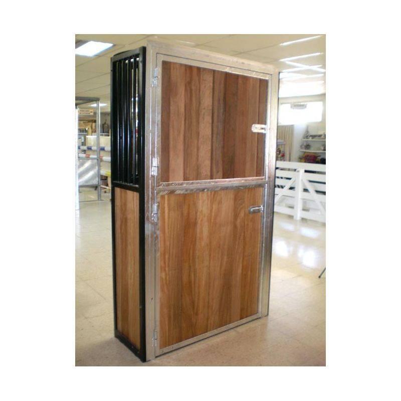 puerta exterior box 2 hojas 230 x 120 cm pintada le galop