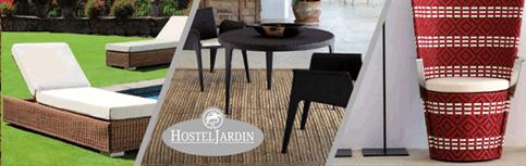 Mobiliario de Jardin. HostelJardin. Acceso a la web