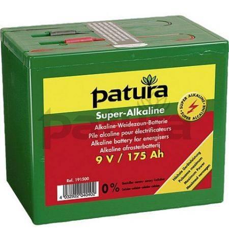 Pilas Super Alcalinas 9 V/ 120 Ah