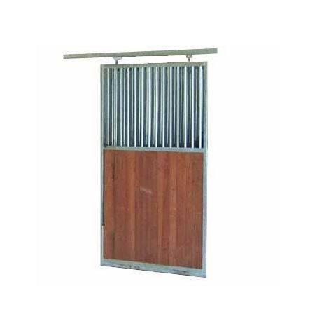 Puerta Corredera 230 X 115 Cms Mad/Reja Pintada