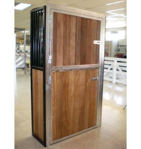 Puerta Exterior Box 2 Hojas 230 X 120 Cm Pintada