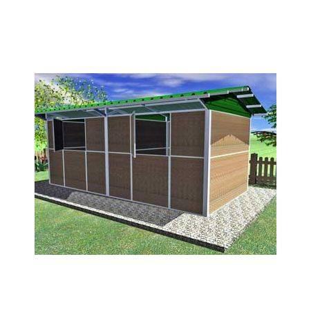 CUBIERTA CHAPA TIPO SANDWICH PARA BOX 300 X 300 CM EN LINEA