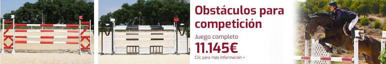 Obstáculos para competición